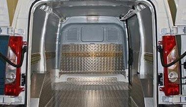 panelvan araç içi alüminyum kaplama