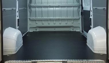 panelvan araç içi oto taban muşamba döşeme